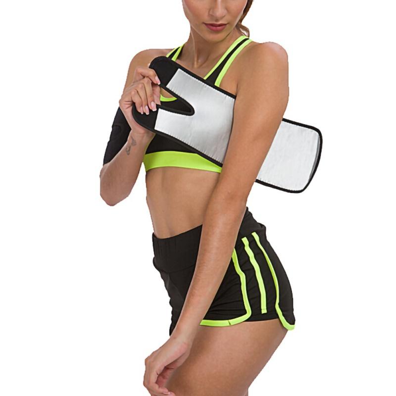 Shapewear Sauna Sweat Band Arm Shaper Weight Loss Compressio